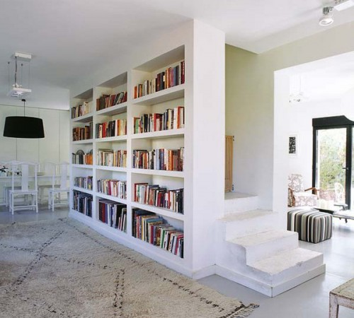 20 Ideas To Organize A Home Library In Living Room
