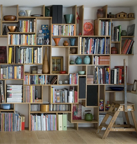 20 Ideas To Organize A Home Library In A Living Room