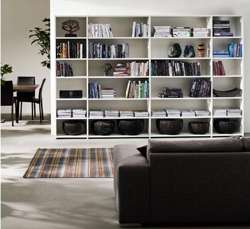 20 Ideas to Organize a Home Library in a Living Room | Alz Blog