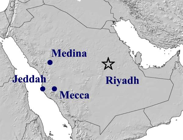 Images and Places, Pictures and Info: mecca map world