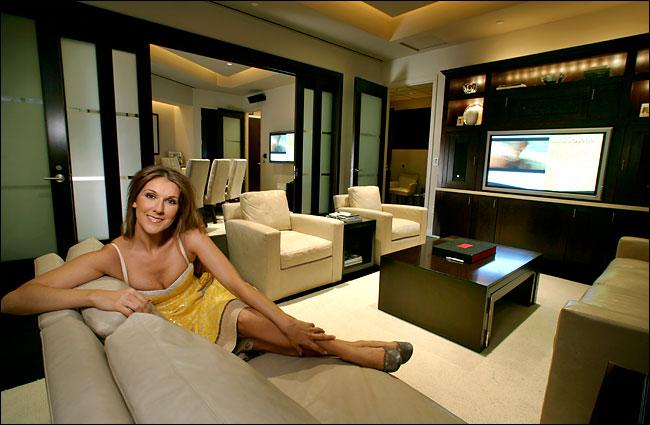celine dion s home alz blog. Black Bedroom Furniture Sets. Home Design Ideas